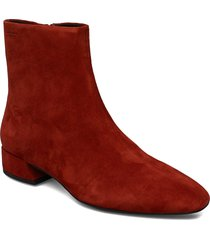 joyce shoes boots ankle boots ankle boot - heel röd vagabond