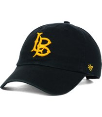 '47 brand long beach state 49ers ncaa clean-up cap