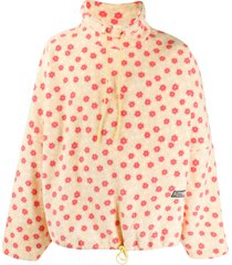 martine rose floral print pullover sweatshirt - yellow
