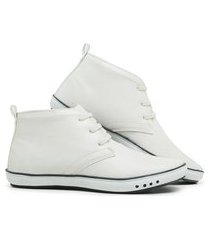 sapatênis casual cano alto mb outlet excluviso branco