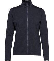 gamon-seamless mid sweat-shirt trui blauw j. lindeberg ski