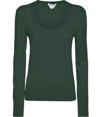 scoop neck cashmere sweater
