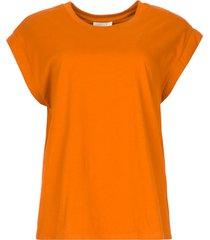 basic t-shirt porter  oranje