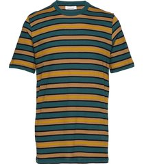 emme t-shirt st 7913 t-shirts short-sleeved multi/mönstrad samsøe samsøe