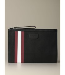 bally briefcase bollis bally pouch in coated canvas with trainspotting