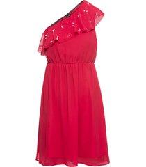 abito monospalla (rosso) - bodyflirt