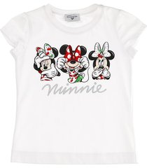 monnalisa cotton jersey printed tshirt