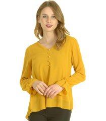 blusa simona amarillo bous