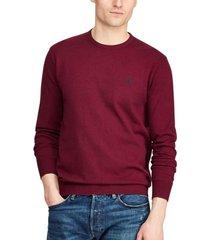 sweater slim fit cotton burdeo polo ralph lauren