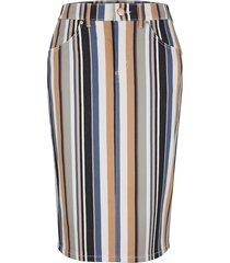 kjol toni marinblå::beige
