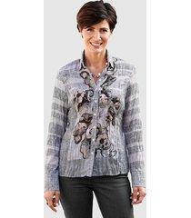 blouse se stenau grijs::roze