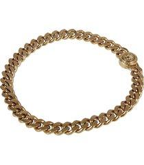 versace flat chain bracelet