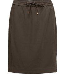 lori pull on skirt kort kjol brun inwear