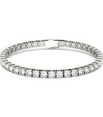 moissanite tennis bracelet (9-7/8 ct. t.w diamond equivalent) in 14k white gold