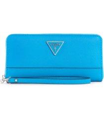 guess cordelia large zip-around wallet