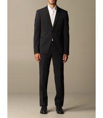 emporio armani suit emporio armani tuxedo suit in virgin wool drop 7