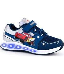 zapatilla azul footy cars