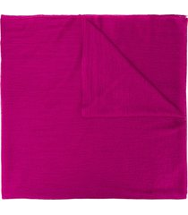 allude classic oversized scarf - purple