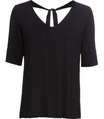 maglia con scollo sulla schiena (nero) - bodyflirt