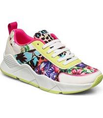 shoes hydra leopard låga sneakers multi/mönstrad desigual shoes