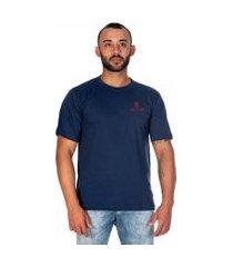 camiseta slim fit básica casual lançamento exclusivo selten azul