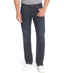 men's 7 for all mankind airweft - austyn relaxed straight leg jeans, size 30 - blue