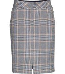 skirt medium length classic kort kjol grå betty barclay