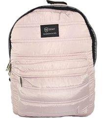 mochila impermeable rosado zenit 19200