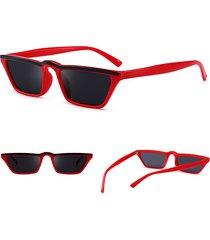 donne leggero uv400 hd occhiali da sole quadrati occhiali da sole alla moda cat eye sottili