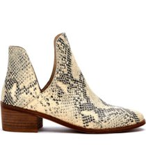 matisse coconuts by matisse pronto bootie women's shoes