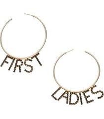 brinco first ladies eva - dourado