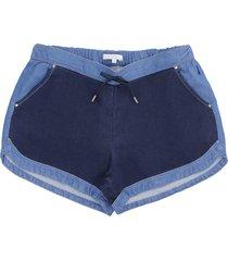 chloé denim shorts