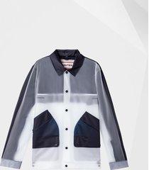 men's original hero vinyl waterproof coach jacket