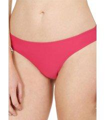 bikini calzón clásico burdeo h2o wear