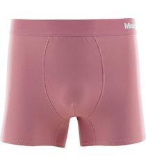 cueca boxer microfibra risca de giz - rosa - masculino - dafiti