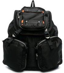 porter-yoshida & co. multi-pocket backpack - black