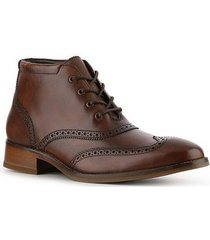 handmade mens brown lace up chukka leather boots, mens brown dress leather boots