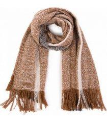 glitzhome scarf with tassels