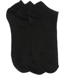women's basic breathable no show active socks, pack of 3