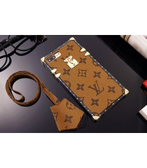 *cream eye trunk bag style plastic case apple iphone6/6s iphone7 iphone8 plus