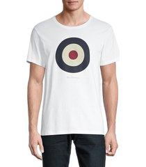 ben sherman men's signature target t-shirt - navy blazer - size s