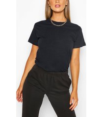 basic oversized t-shirt, marineblauw