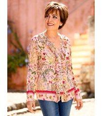 blouse paola ecru::rood::riet