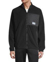 puma men's avenir hybrid track jacket - black - size xl