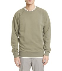 men's closed solid crewneck sweatshirt