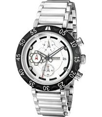 relógio masculino magnum analogico com cronografo