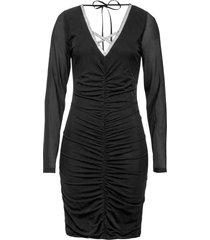 abito con applicazioni glitterate (nero) - bodyflirt boutique