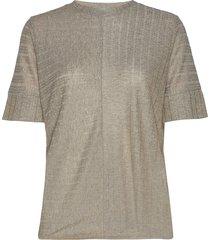 stan tee st t-shirts & tops short-sleeved grijs iben