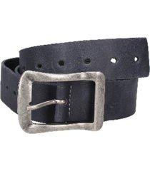 cinturón cuero azul marino panama jack