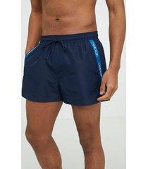 calvin klein underwear short drawstring badkläder blå